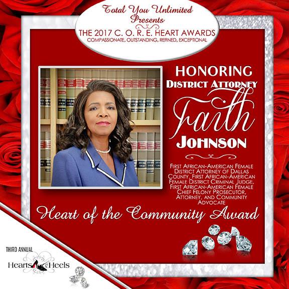 District Attorney Faith Johnson